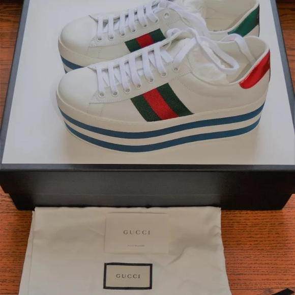 Gucci Ace Platform Sneakers 734779623